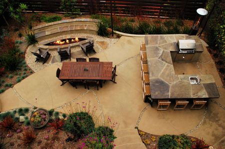 15 Beautiful Concrete Patio Ideas and Designs on backyard water ideas, backyard building ideas, backyard wood ideas, backyard slate ideas, backyard gravel ideas, sloped backyard ideas, backyard landscaping ideas, backyard floor ideas, backyard pavers ideas, backyard rock ideas, backyard stone ideas, backyard construction ideas, backyard tile ideas, backyard sand ideas, backyard grass ideas, small backyard ideas, backyard furniture ideas, backyard food ideas, backyard paint ideas, backyard brick ideas,