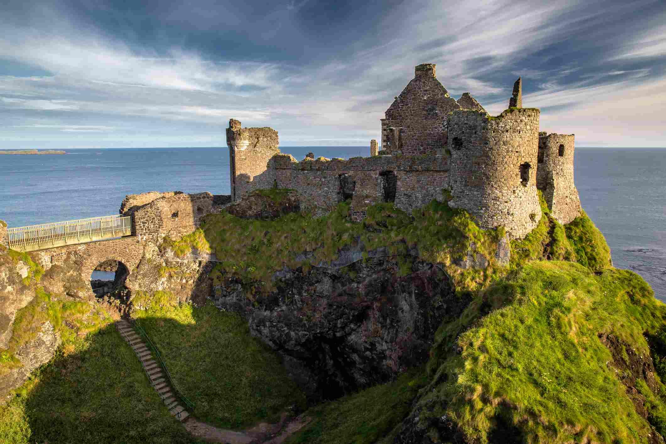 Ruins of Dunluce Castle, Northern Ireland, Co. Antrim
