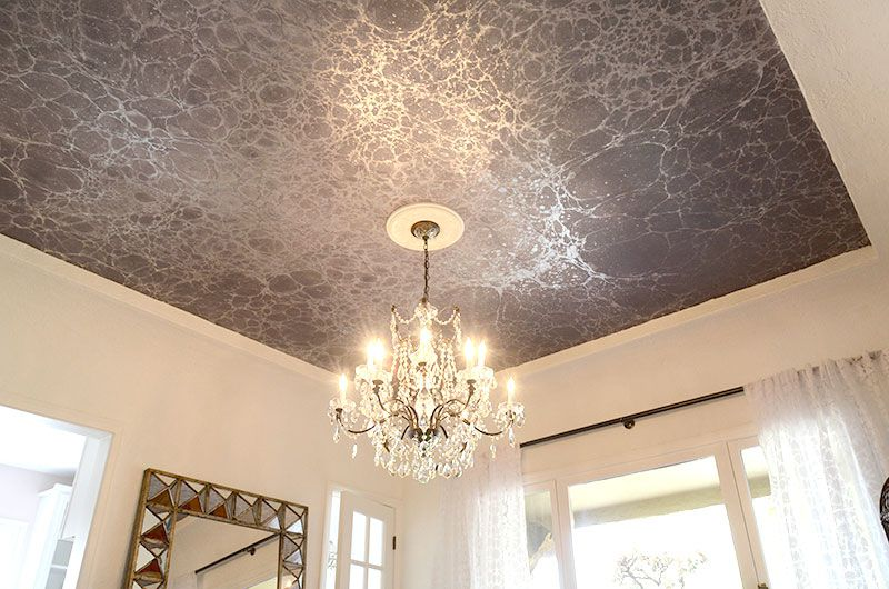 29 Ceiling Wallpaper Ideas