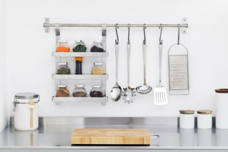 What To Store On Your Kitchen Counters (and What Not To) Checklist Ideas For Cluttered Kitchen Counter on creative kitchen counter, burned kitchen counter, old kitchen counter, dirty kitchen counter, clear kitchen counter, crowded kitchen counter, messy kitchen counter, small kitchen counter, hazard kitchen counter, dark kitchen counter, clean kitchen counter, hot kitchen counter, organized kitchen counter, checkered kitchen counter,