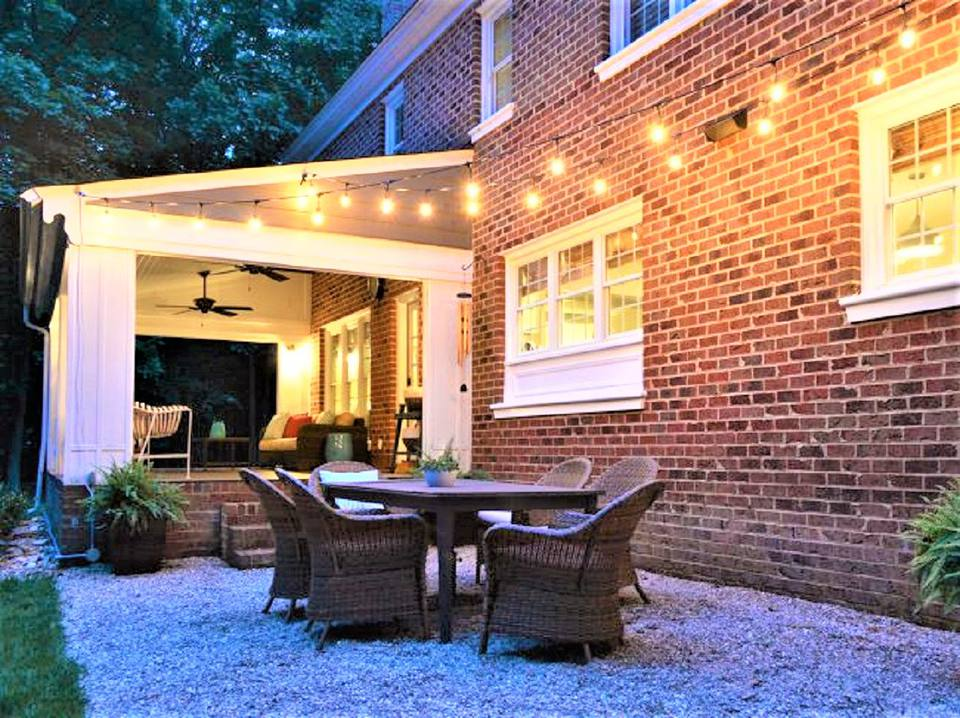 10 Creative and Inexpensive DIY Patios on Diy Backyard Patio Cheap id=52384