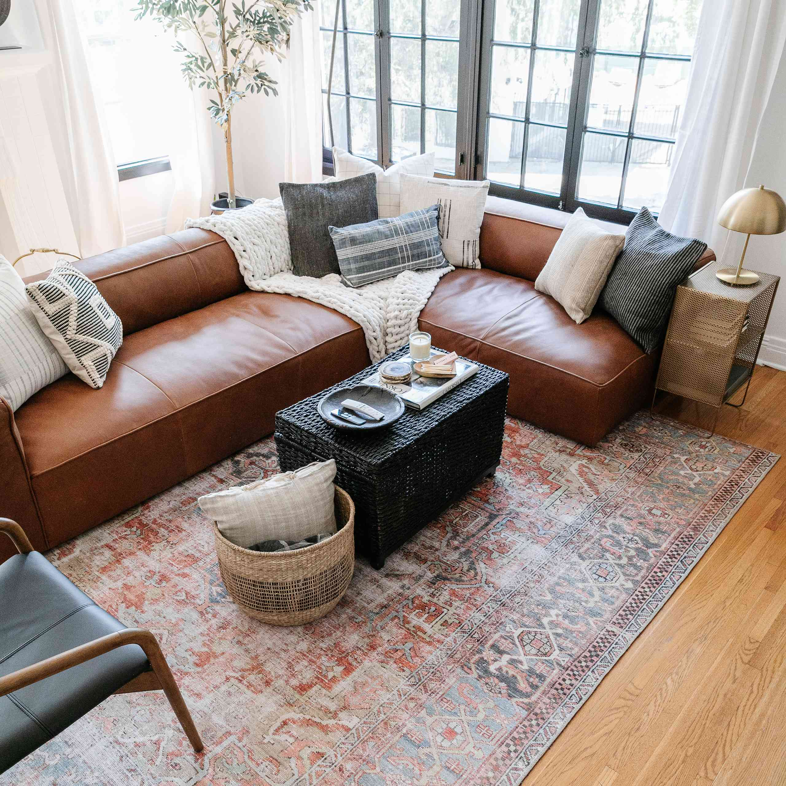 timeless furniture in the home of drew scott, the lone fox
