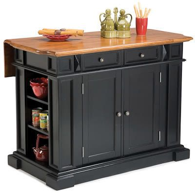 Small Fixed Kitchen Island