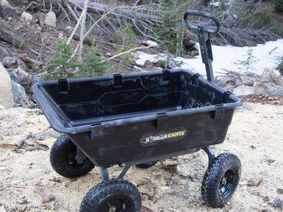 Gorilla Carts GOR6PS (-C) Poly Dump Cart