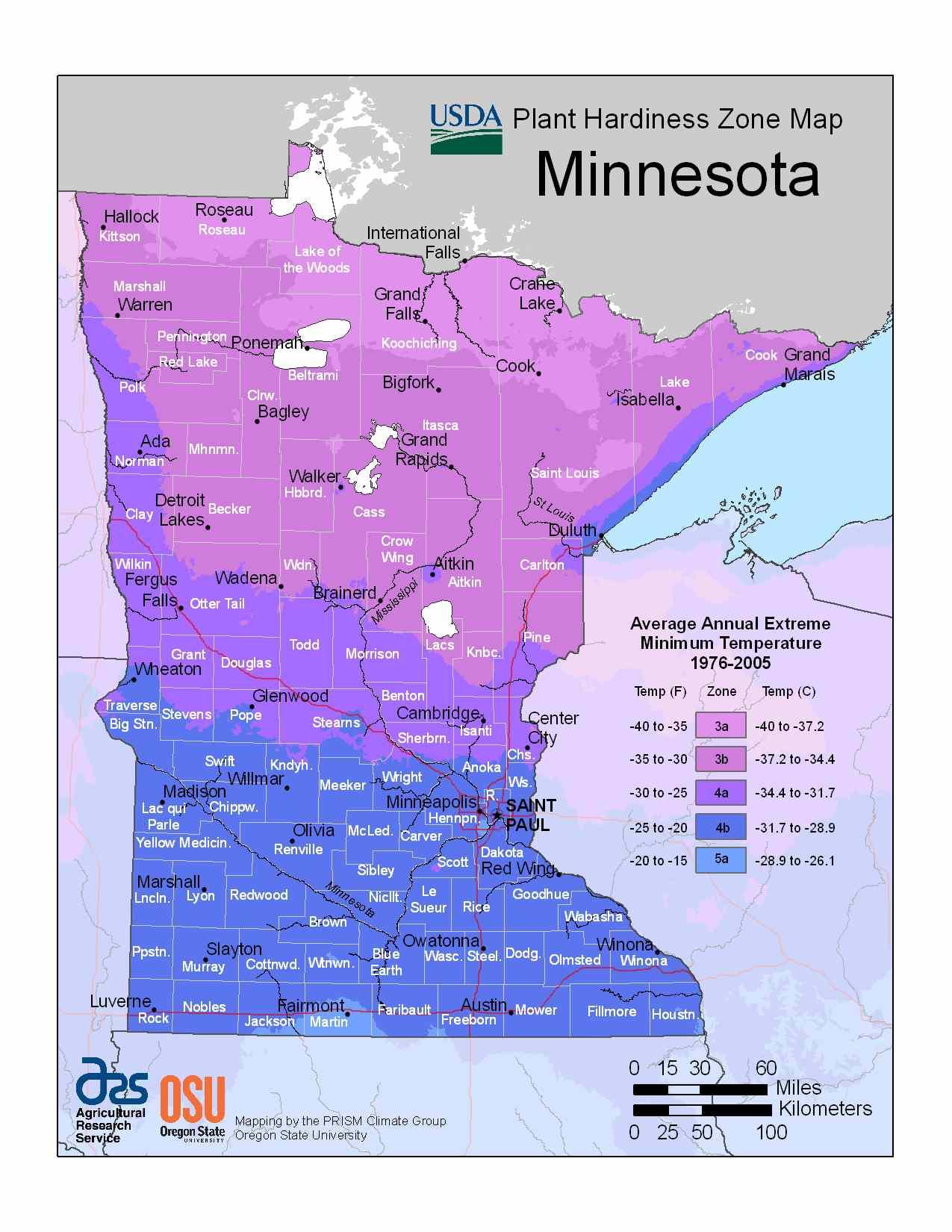 Photo of Minnesota Hardiness Zones