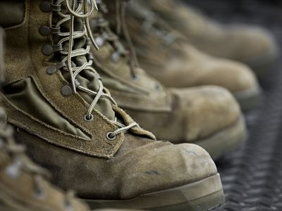 Keep Your Suede Combat Boots Ready For Inspection Cleaning Fabrics