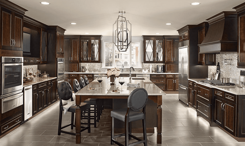 KraftMaid Peppercorn Kitchen