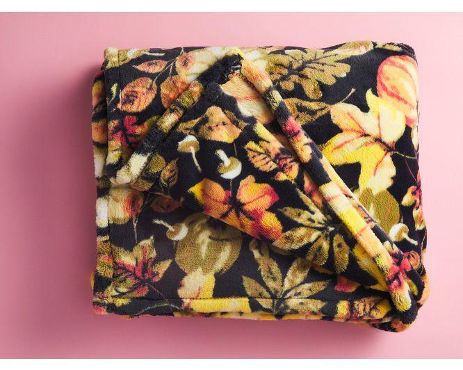 Oversize Fall Throw Blanket