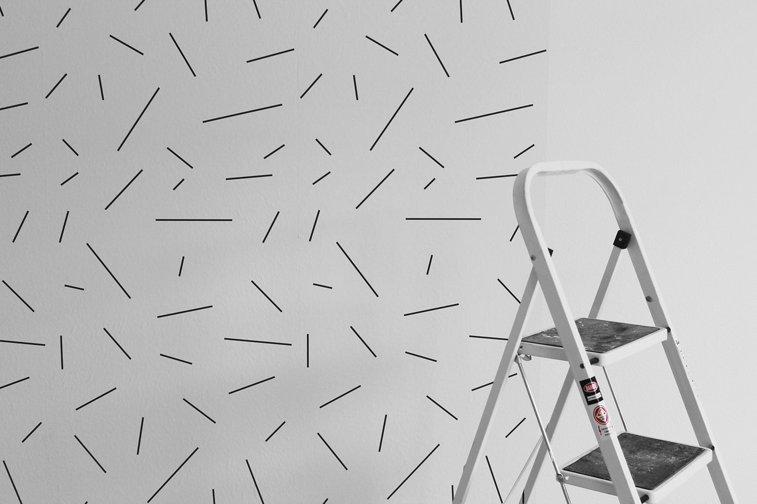 Chasing Paper Peel and Stick Wallpaper (Long Lines)