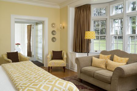 Warm Yellow Bedroom Decor