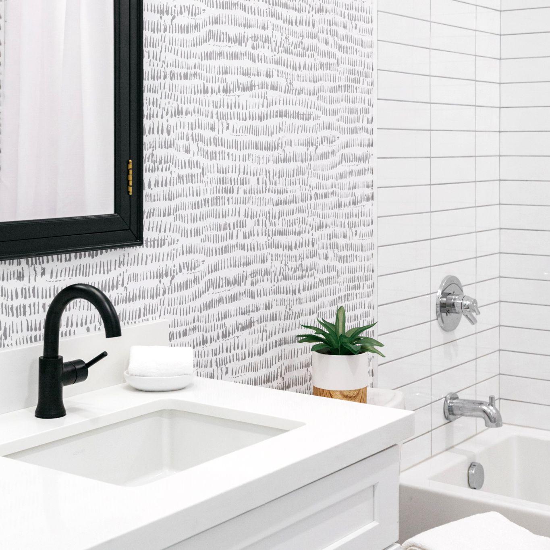 Use Wallpaper In Your Bathroom, Wallpaper Bathroom Ideas