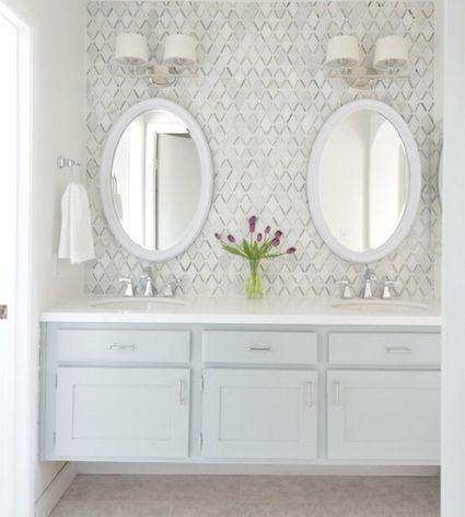 white bathroom ideas.  Ideas 14 Bathrooms With Double Vanities White Bathroom Ideas L