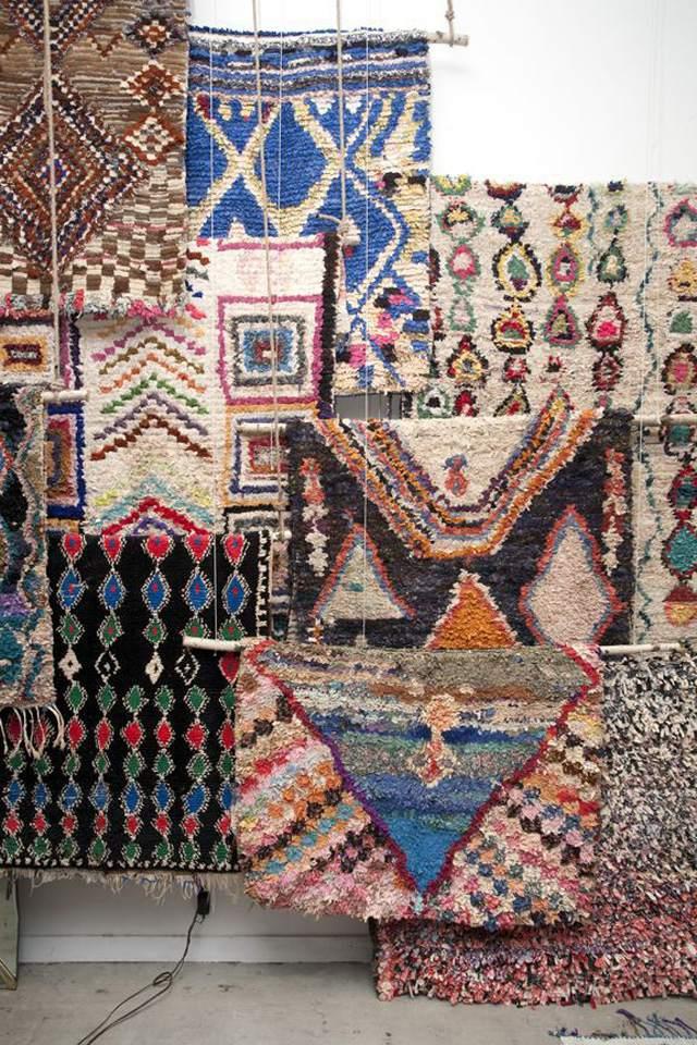 Morocco's Modern Boucherouite Rugs