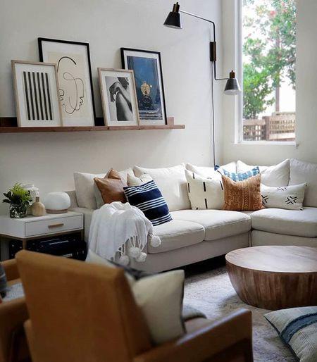 Update Your Walls Living Room