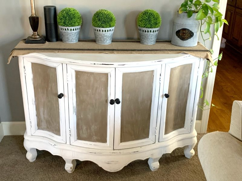 charging station concealed in cabinet