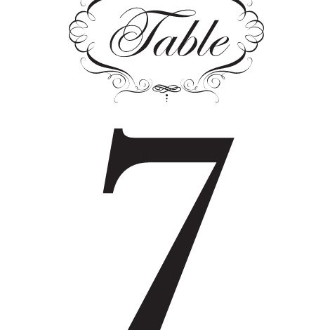 Terrific Hundreds Of Free Printable Wedding Table Numbers Download Free Architecture Designs Scobabritishbridgeorg