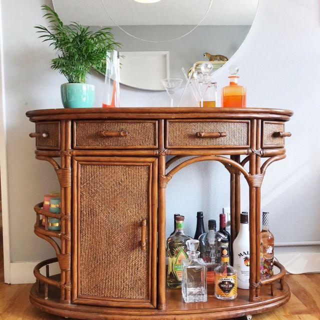 Facebook Marketplace Bar Cart
