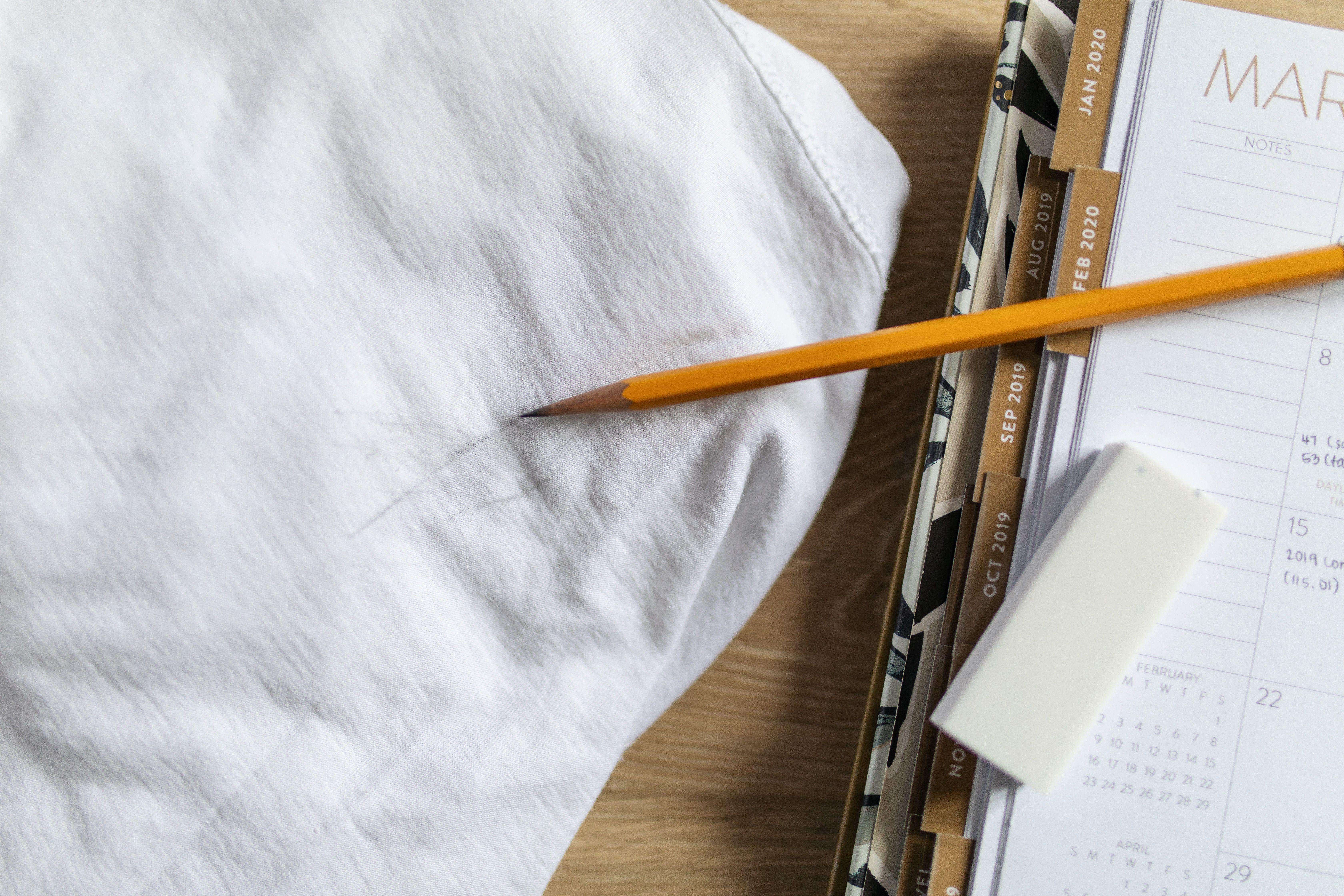removing pencil stains in a few simple steps