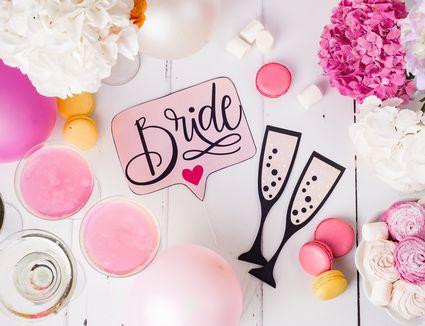 bridal shower decor
