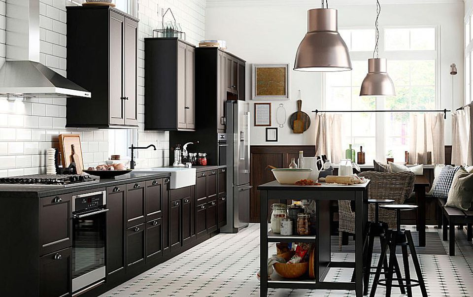 How to successfully design an ikea kitchen - Ikea cuisine faktum abstrakt gris ...