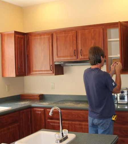 Cabinet Refacing Before And After Impressive Reface Kitchen Cabinets Before And After