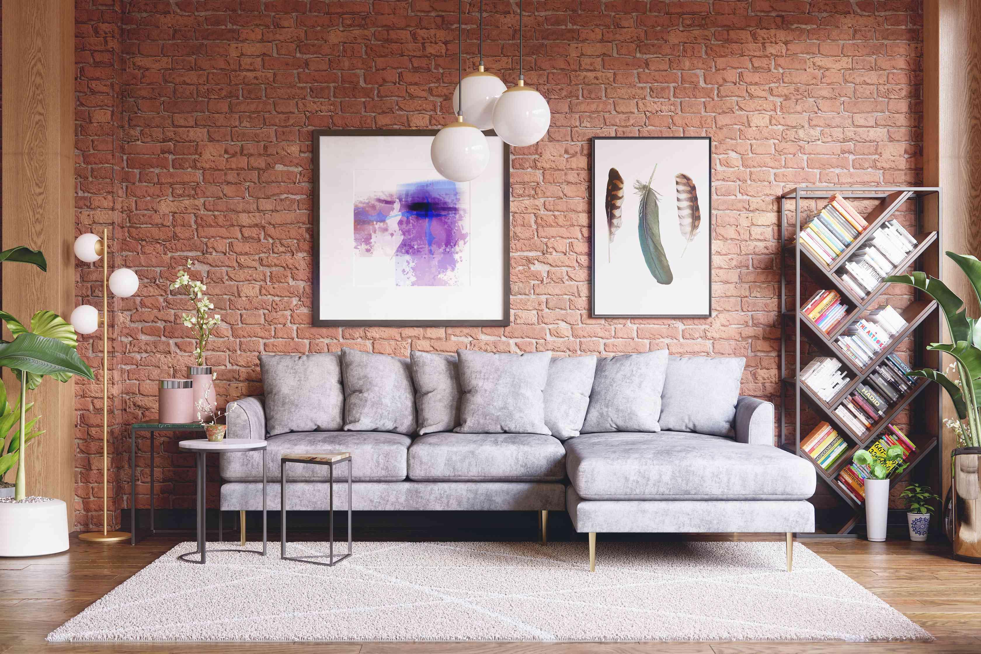 Joybird sectional living room