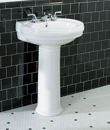 Jacuzzi Pedestal Sink