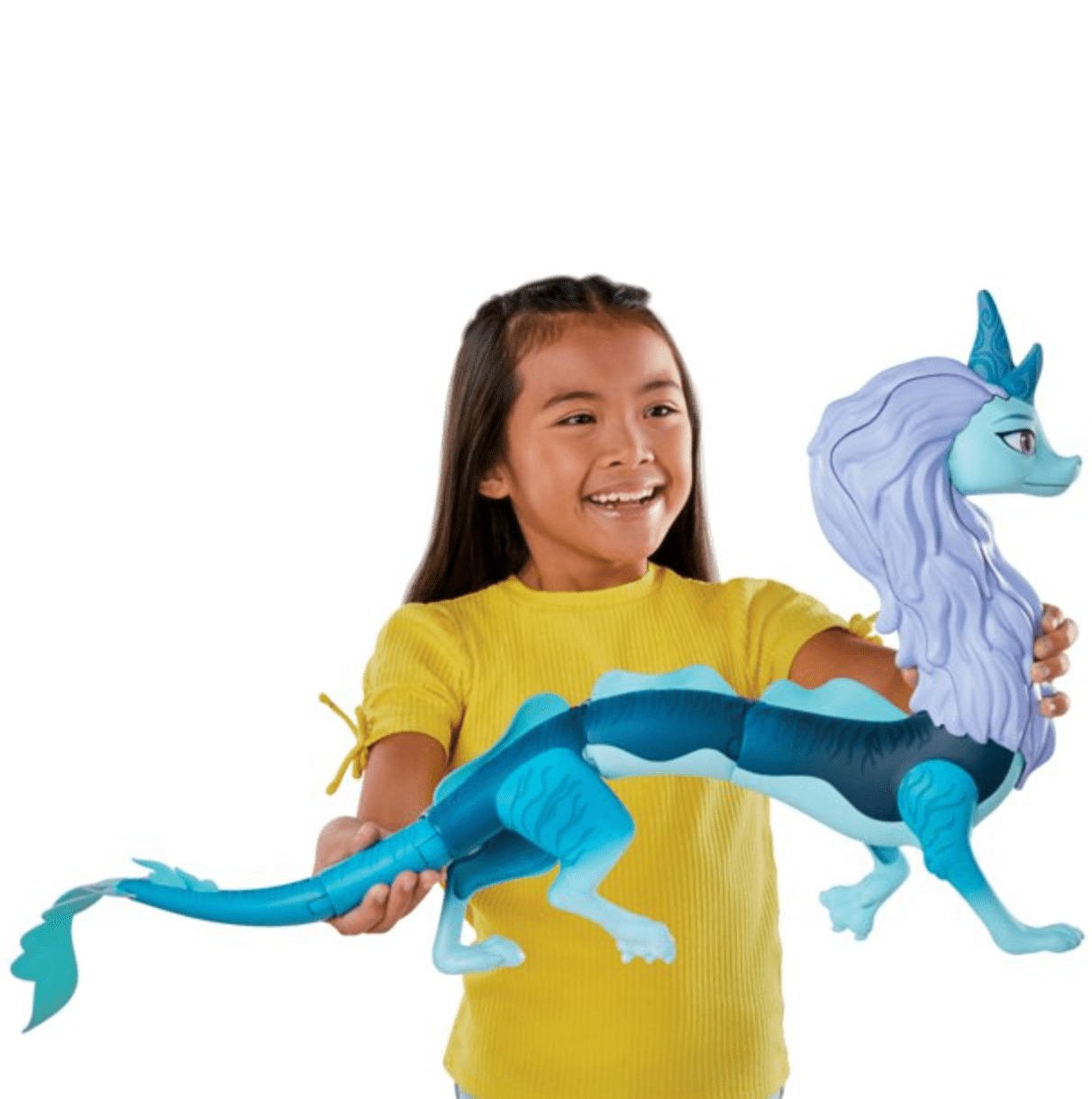 Disney's Raya and The Last Dragon Color Splash Raya and Sisu Dragon, Water Toy