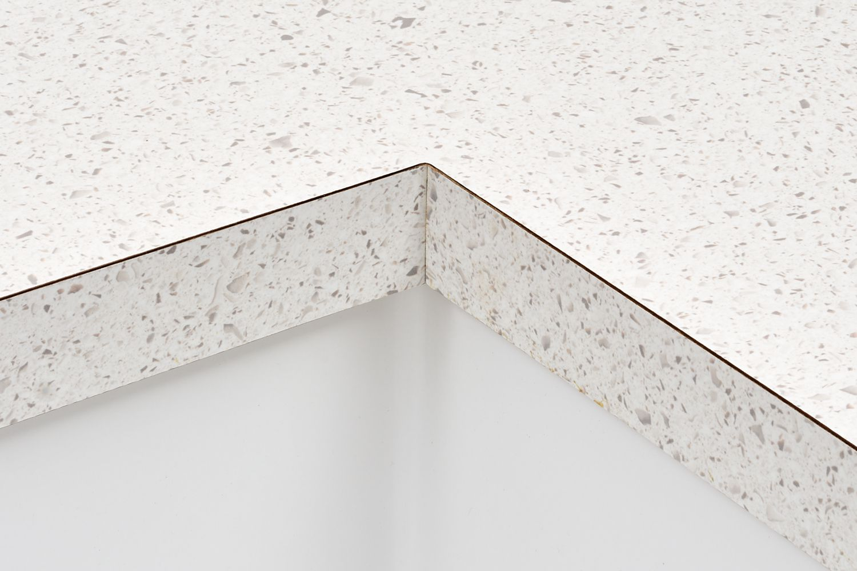 Laminate countertop detail