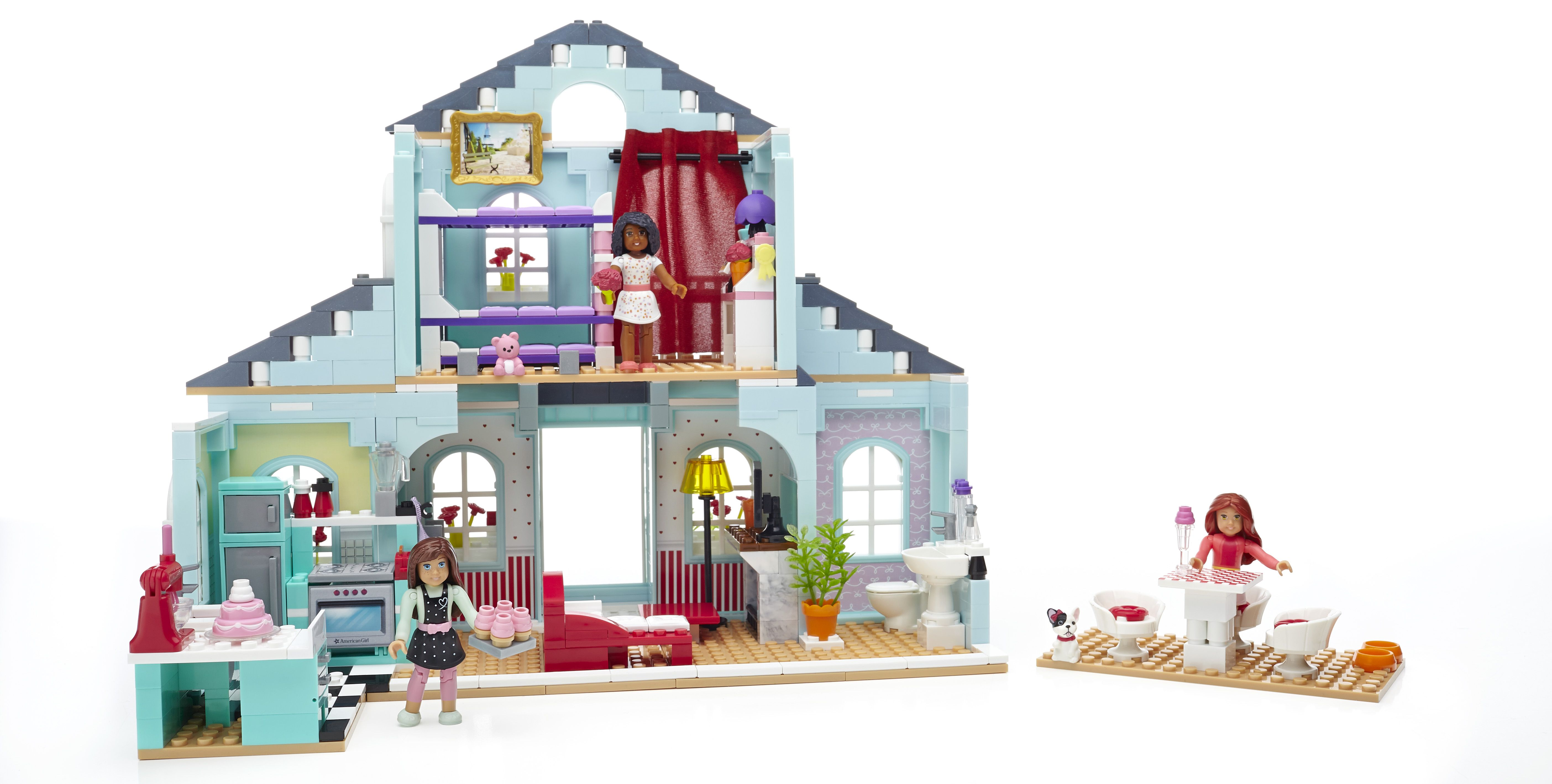 American Girl Grace's 2 in 1 Buildable Home and Patisserie