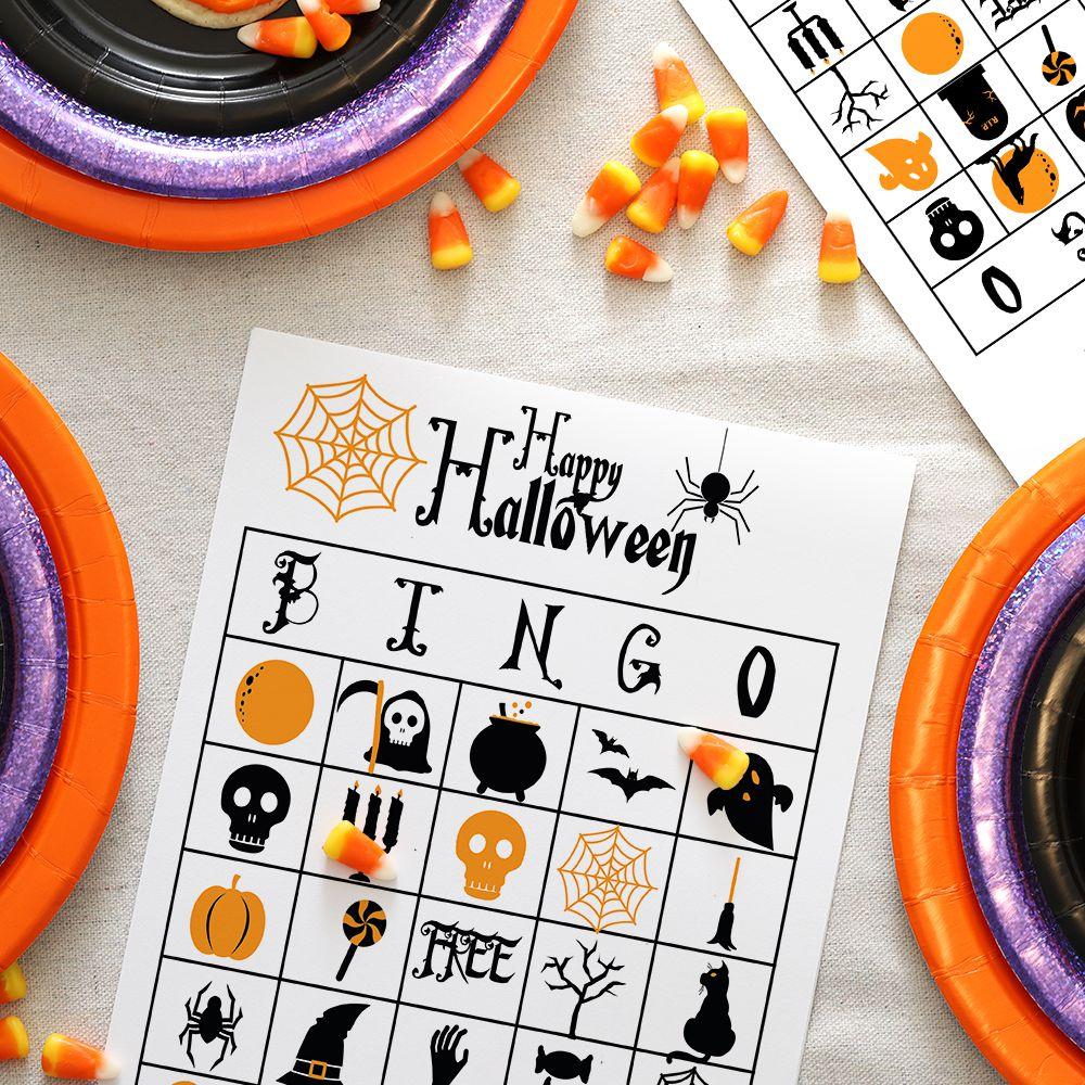 Free Printable Halloween Bingo Cards With Pictures.13 Sets Of Free Printable Halloween Bingo Cards