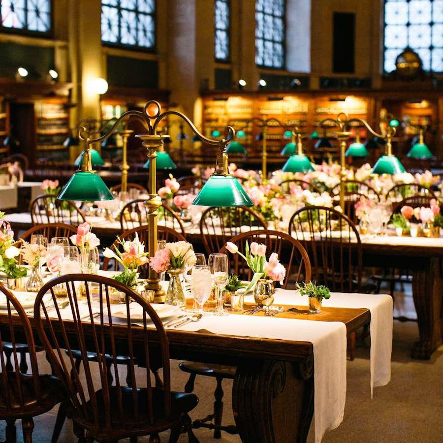 Library wedding venue