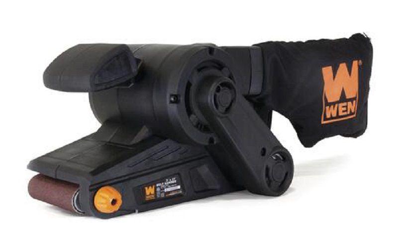 Corded Belt Sander with Dust Bag
