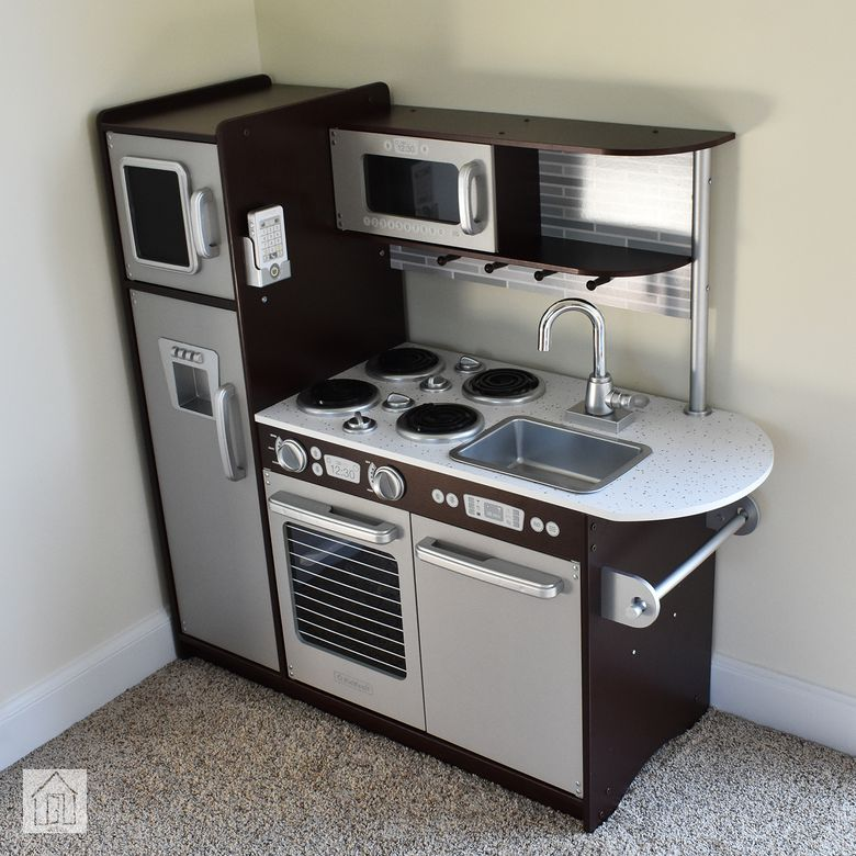 KidKraft Uptown Espresso Play Kitchen Review
