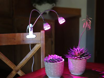 PPUNSON Dual Head UV & IR LED Grow Light