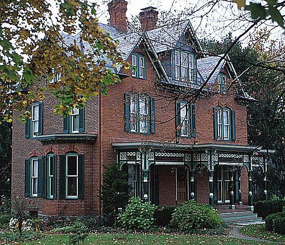 Victorian Gothic home in Fredericksburg, VA