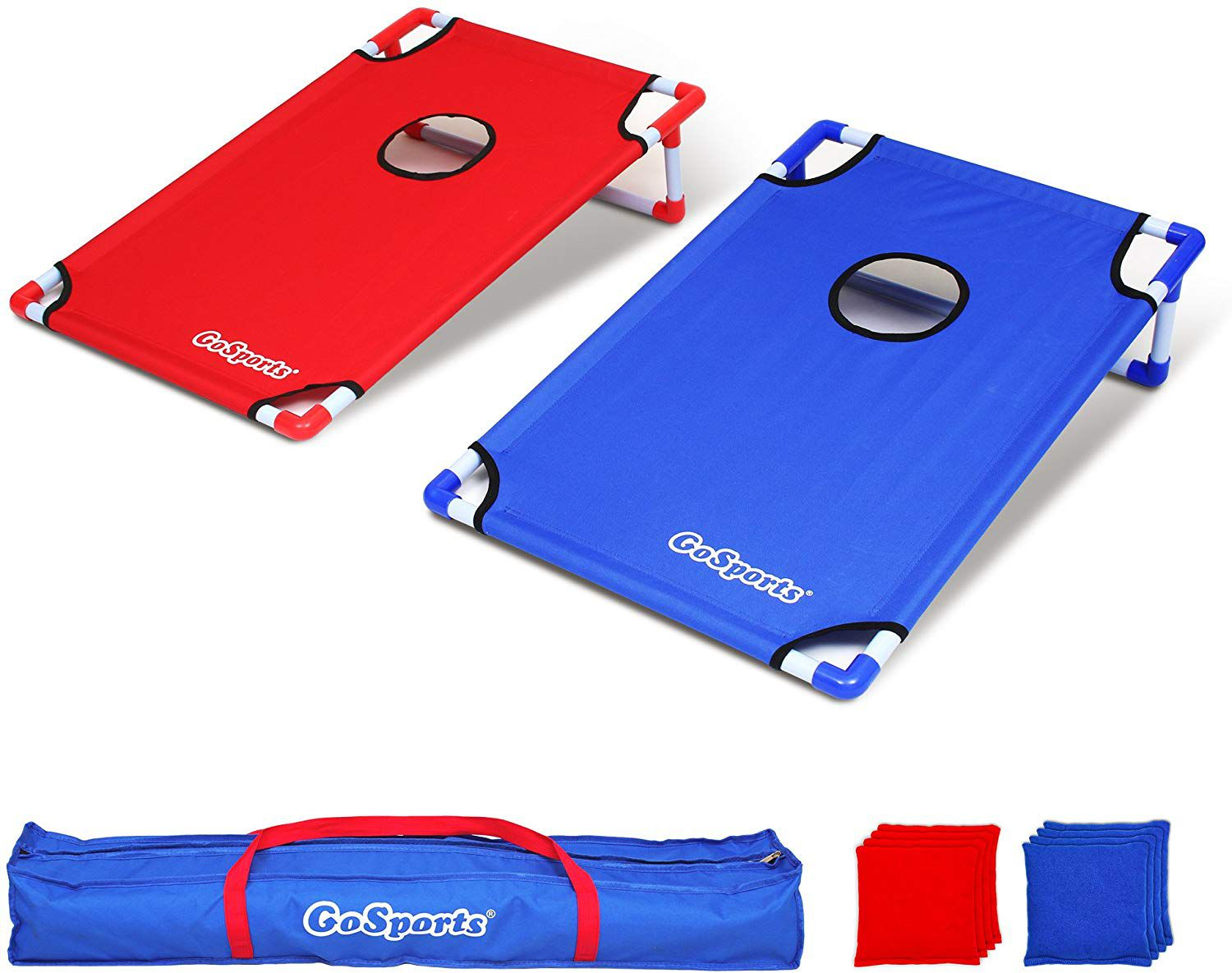 Himal Portable Assemble PVC Framed Corn Hole Outdoor Game