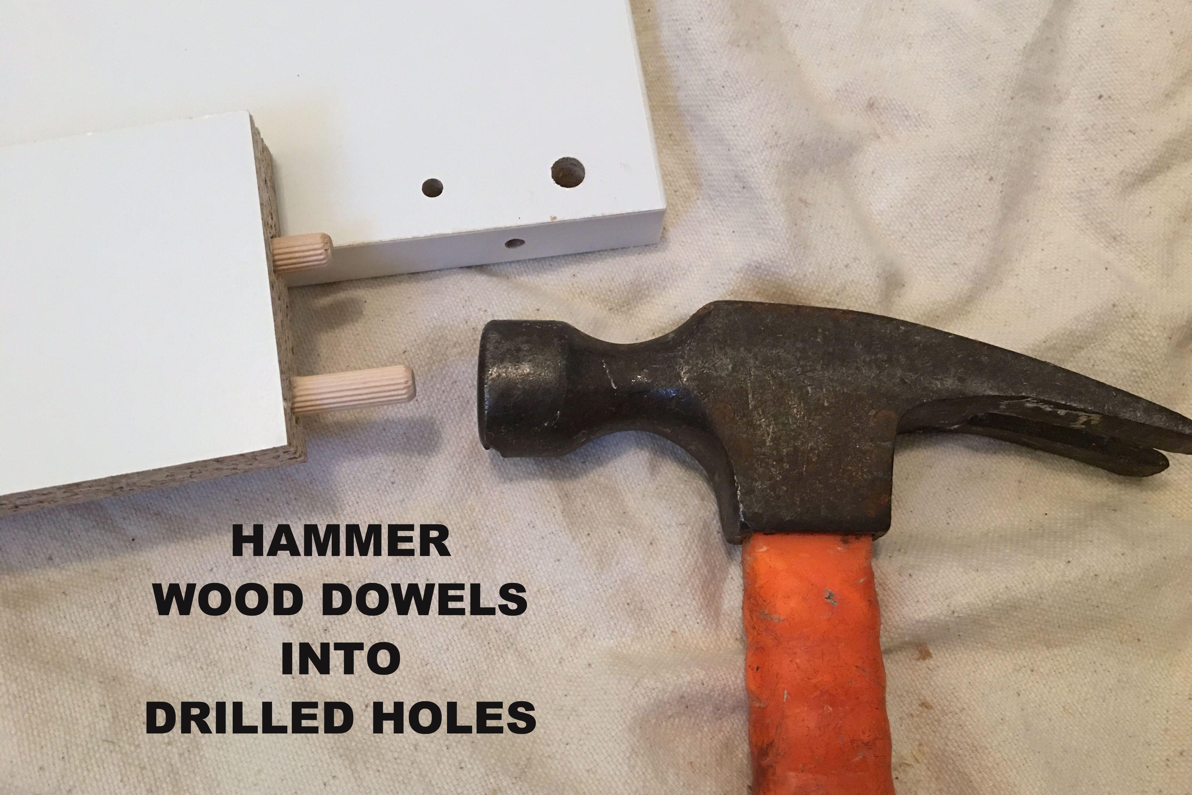 Hammer Wood Dowels