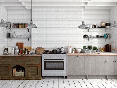 Kitchen Backsplash Materials Rated On A Five Point Scale