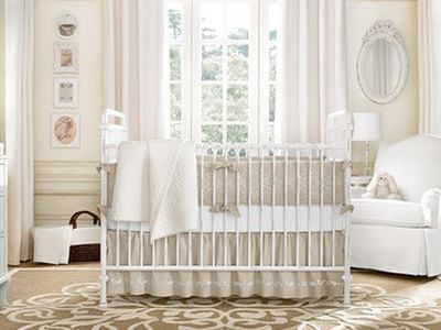 How To Decorate A Wonderfully White Nursery Ideas
