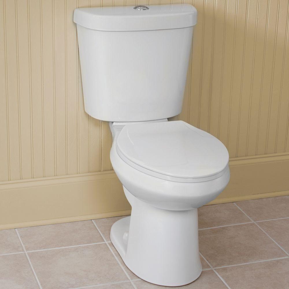 Glacier Bay High Efficiency Dual Flush Toilet