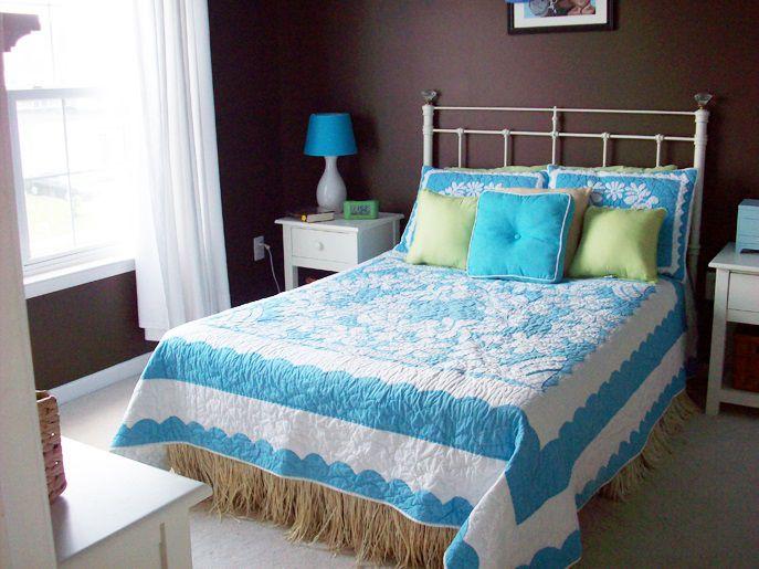 Bold Colored Bedroom Walls
