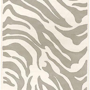 Zebra pattern in creams