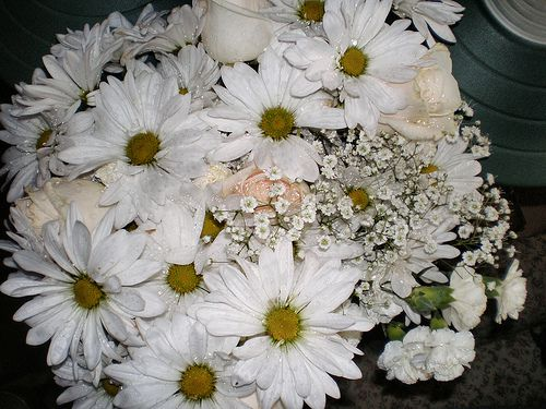 White Bridal Bouquets, Classic and Elegant