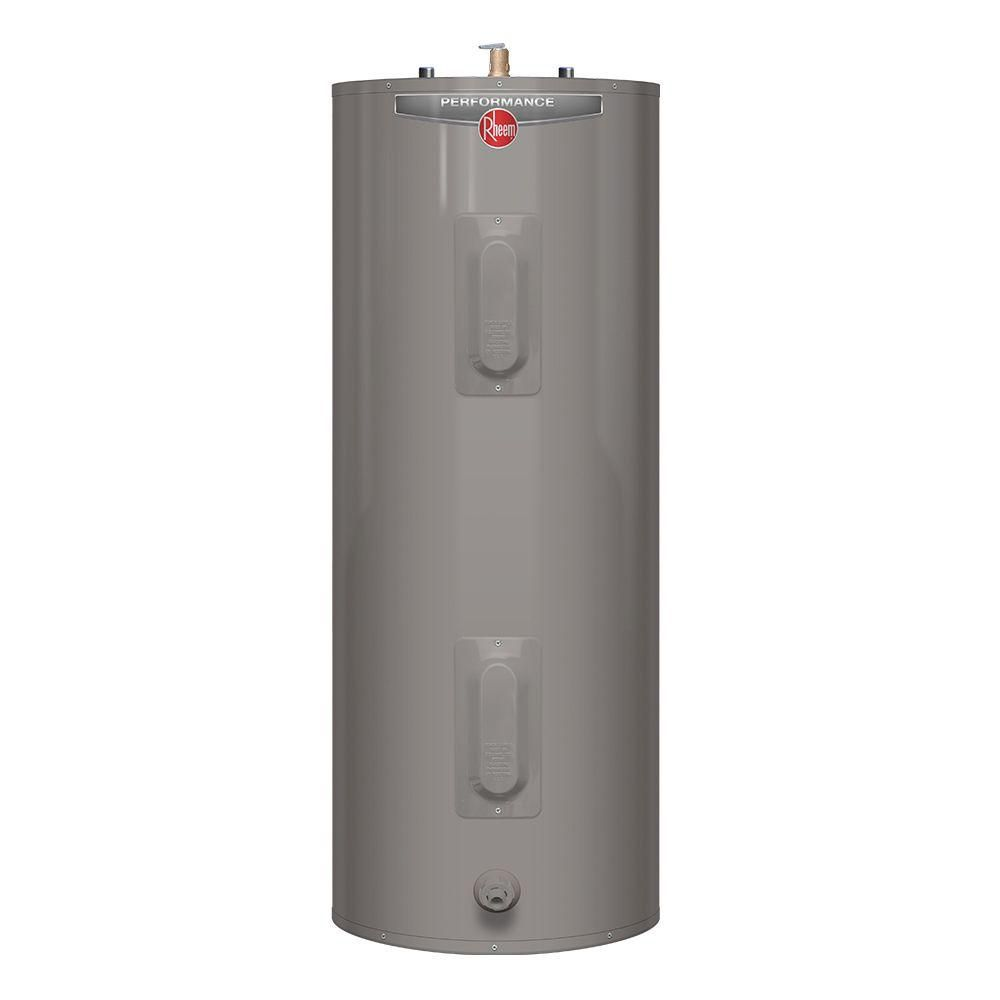 Performance 40 Gal. Tall 6 Year 4500/4500-Watt Elements Electric Tank Water Heater
