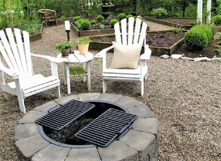 Diy Fire Pit For Bbqs