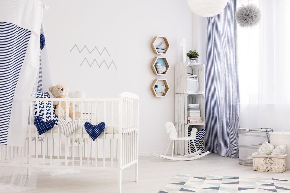 Habitación náutica para bebés
