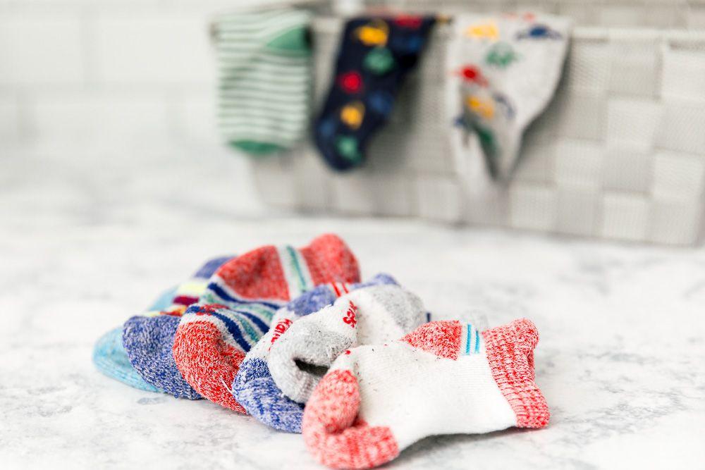 disappearing socks