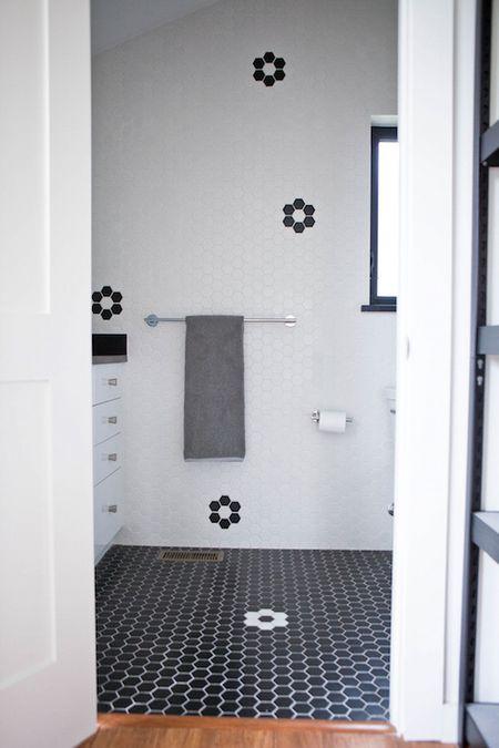 Black And White Bathroom Design Ideas