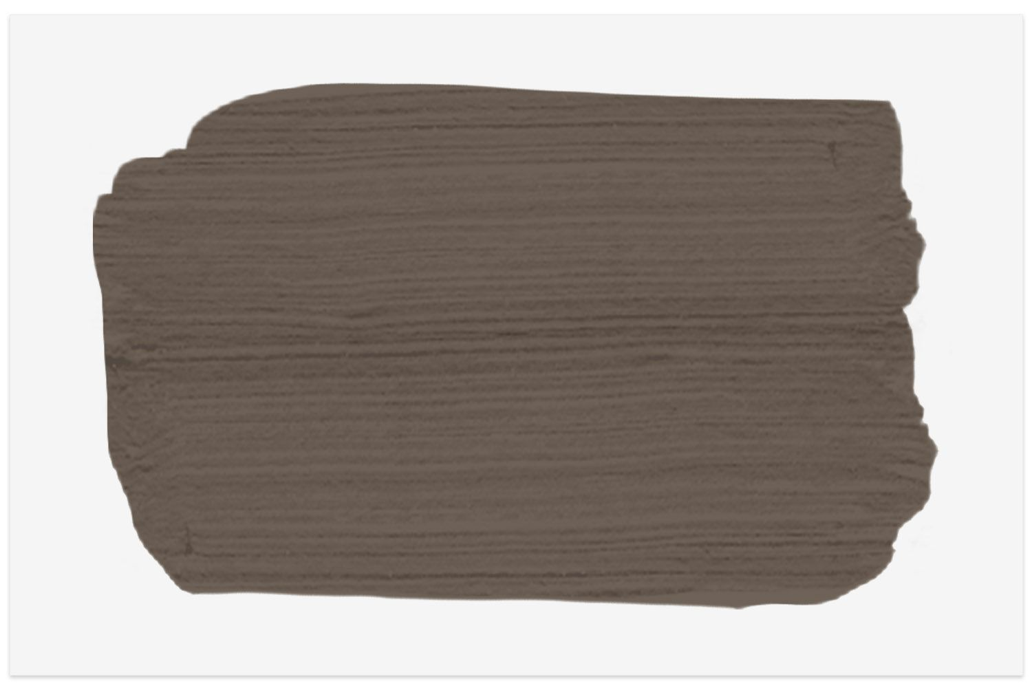 Homestead Brown paint swatch from Sherwin Williams